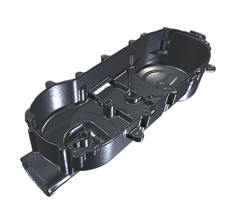 Motorcycle engine cover HD 3D模型